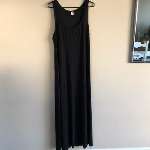 🖤 Long Black Maxi Dress